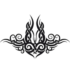 Maori tribal tattoo design vector