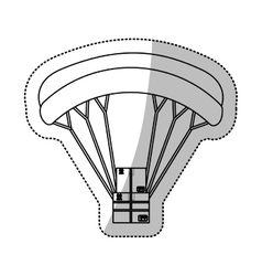 airmail shipping delivery vector image