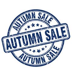 Autumn sale stamp vector