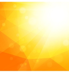 Bright summer sun background vector