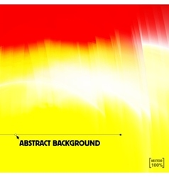 Bright yellow and red sunlight abstract vector