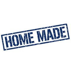 Home made stamp vector