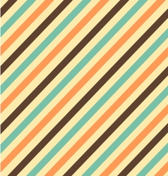 Stripes pattern vintage vector image