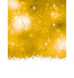 Orange Christmas Background EPS 8 vector image