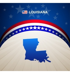 Louisiana vector image