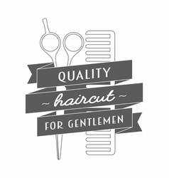 Logo for barbershop vector
