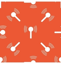 Orange signal pattern vector