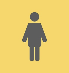 Man Sign Icon vector image vector image