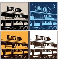 motel vector image vector image