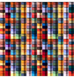 Multicolored geometric structure vector image vector image