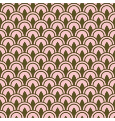 row pattern vector image vector image