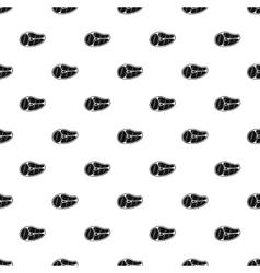 Steak pattern simple style vector image vector image