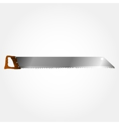 Wood saws vector