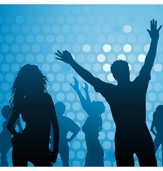 Dance Party - Night Club vector image vector image