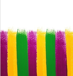 Mardi Gras watercolor background vector image vector image