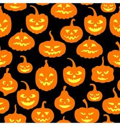 Pumpkin pattern vector