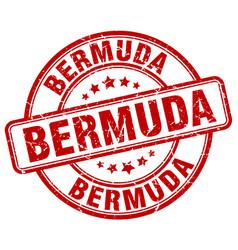 Bermuda stamp vector