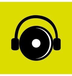 Dj electro music vector