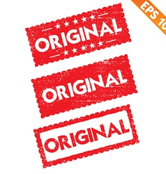 Stamp sticker original tag collection - - e vector