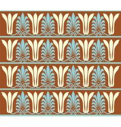 Vintage ornament pattern vector