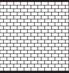 Brick pattern seamless background vector