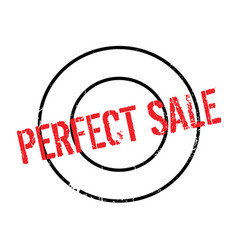 Perfect sale rubber stamp vector