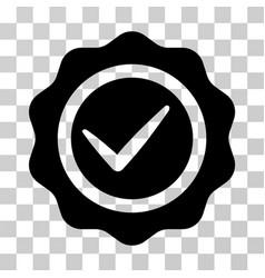 Valid seal icon vector