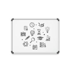 whiteboard concept icon vector image