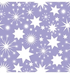Elegant christmas seamless background with stars vector