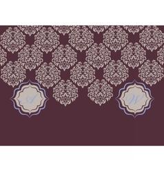 Card ornamental elements vector