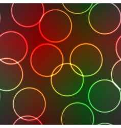lighting rings vector image
