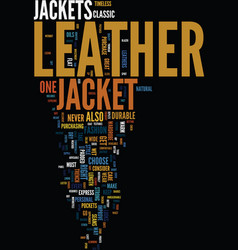 Men s leather jackets how to choose the one for vector