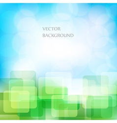Natural eco background vector image vector image