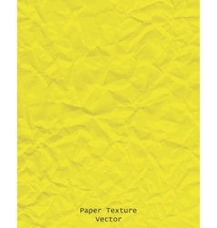 paper texture yellow vector image
