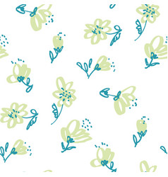seamless pattern for surface design vector image vector image