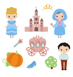 cute beautiful princess cute beautiful princess vector image