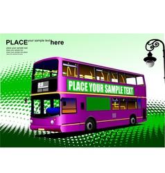 Al 1003 city bus 02 vector