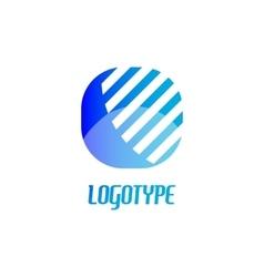 Abstract logo design elements Arrows vector image