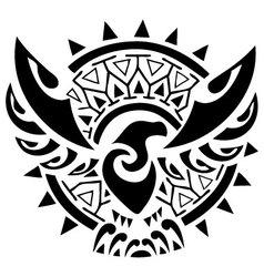 maori vector image