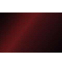 Red geometric polygons background vector image vector image