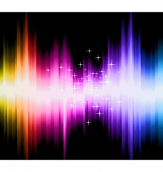 Magic gradient background vector