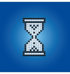 Hour glass cursor vector