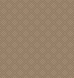 Abstract geometric rhombus seamless patterns vector image
