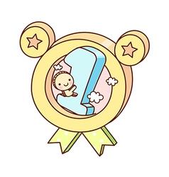 An award certificate vector image vector image