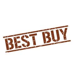 Best buy stamp vector