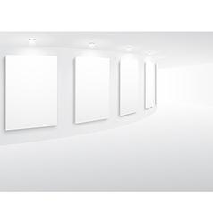 exhibitionarc vector image vector image