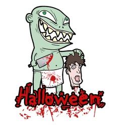 Halloween blood party vector