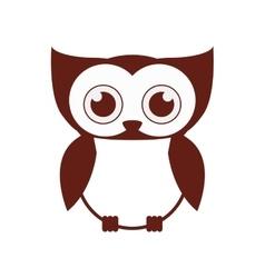 Isolated owl cartoon design vector