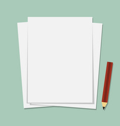 paper vector image vector image