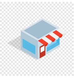 shop isometric icon vector image